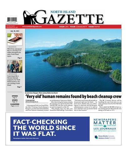 North Island Gazette, July 28, 2021