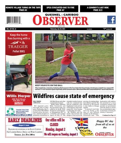 Quesnel Cariboo Observer, July 28, 2021