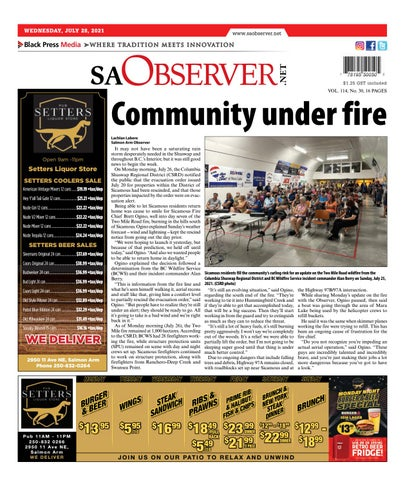 Salmon Arm Observer, July 28, 2021