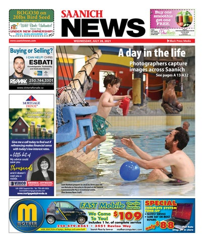 Saanich News, July 28, 2021