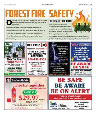Forest Fire Safety - July 28, 2021
