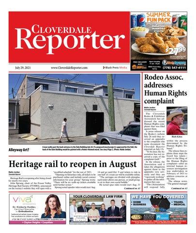 Cloverdale Reporter, July 29, 2021
