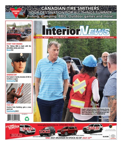 Smithers Interior News, July 29, 2021