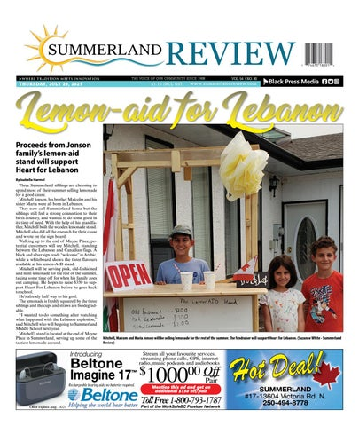 Summerland Review, July 29, 2021