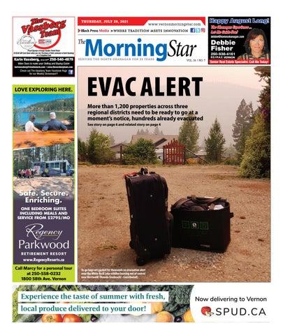 Vernon Morning Star, July 29, 2021
