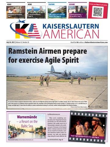 Kaiserslautern American - July 30, 2021