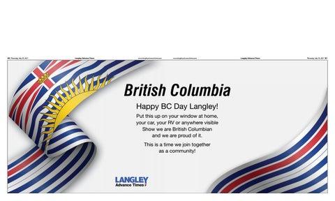 July 29, 2021 Langley Advance Times