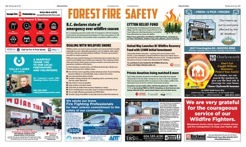 Forest Fire Safety