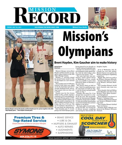 Mission City Record, July 30, 2021