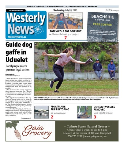 Tofino-Ucluelet Westerly News, July 28, 2021