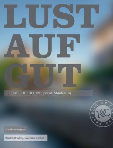 LUST AUF GUT Magazin | Magazin im Magazin </br> Special: Staufen 3