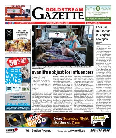 Goldstream News Gazette, August 4, 2021