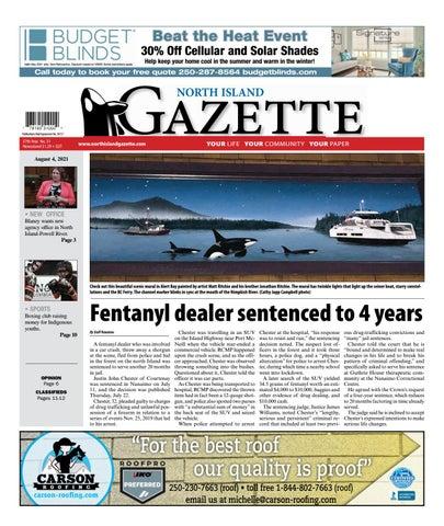 North Island Gazette, August 4, 2021