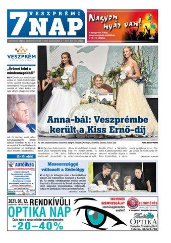 Veszprémi 7 Nap - 2021. 08. 05.