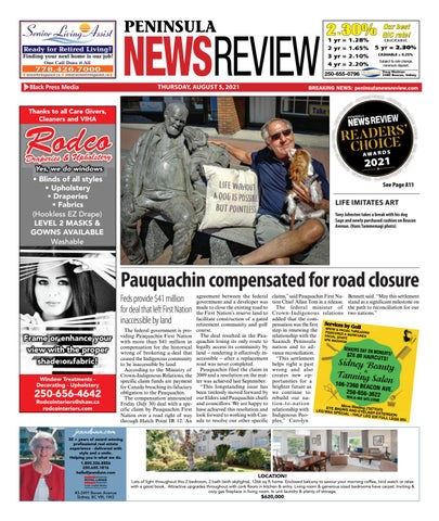 Peninsula News Review, August 5, 2021