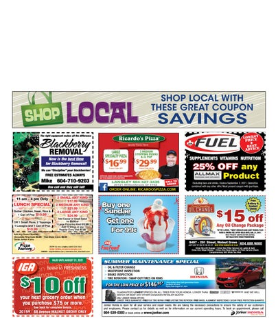 August 05, 2021 Langley Advance Times