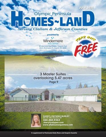 Homes-Land Olympic Peninsula July 2021