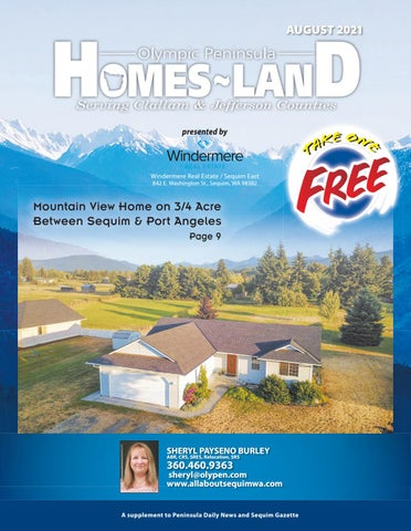 Homes-Land Olympic Peninsula August 2021