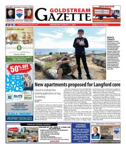 Goldstream News Gazette, August 11, 2021