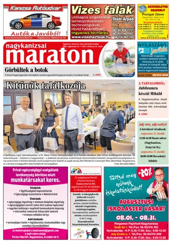 Nagykanizsai Maraton - 2021. 08. 13.