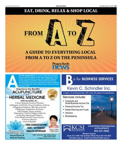 A-Z Guide to Local Businesses 2021
