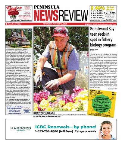 Peninsula News Review, August 12, 2021