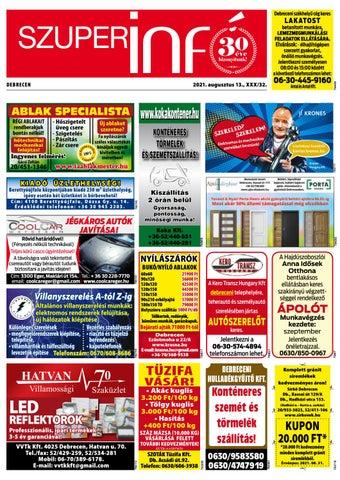 Debrecen 2021.08.13