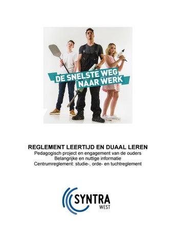 Reglement leertijd duaal 2021-2022 Syntra West