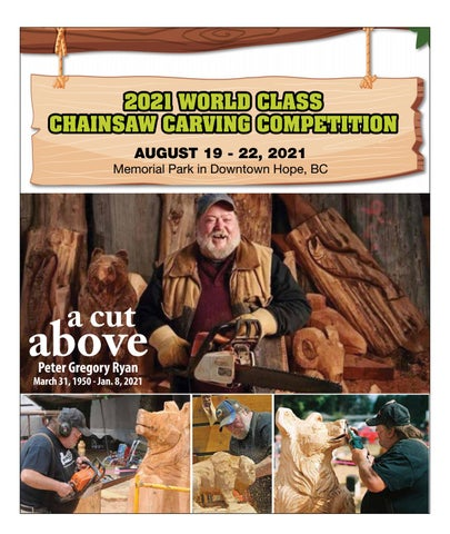 Chainsaw Carving 2021