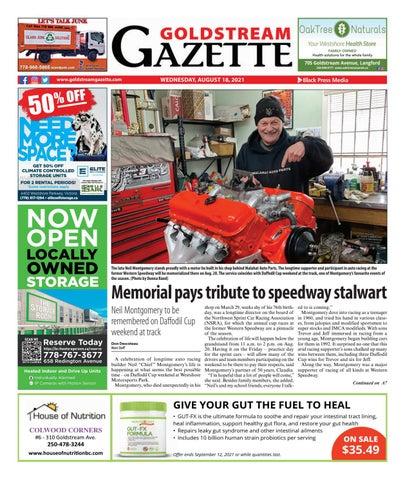Goldstream News Gazette, August 18, 2021