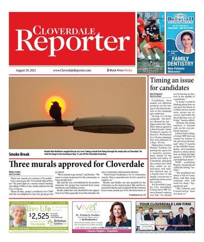 Cloverdale Reporter, August 19, 2021