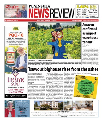 Peninsula News Review, August 19, 2021