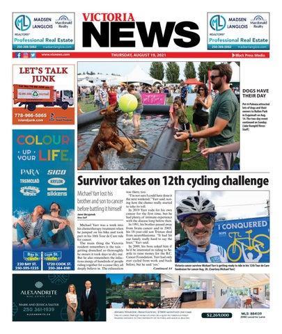 Victoria News, August 19, 2021