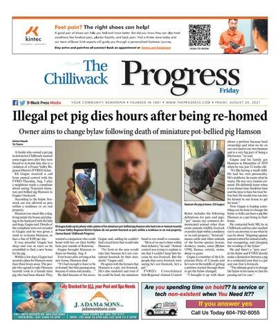 Chilliwack Progress, August 20, 2021