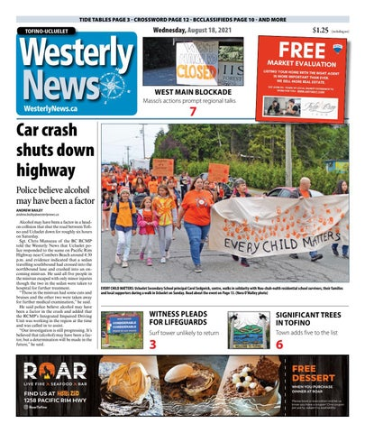 Tofino-Ucluelet Westerly News, August 18, 2021