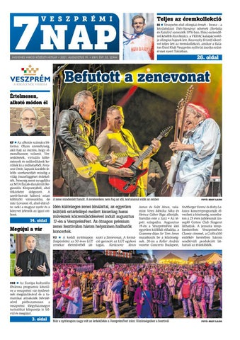 Veszprémi 7 Nap - 2021. 08. 19.