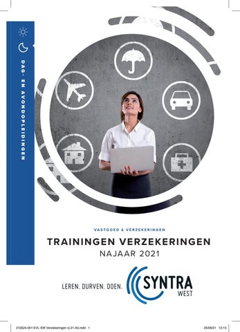 Syntra West - Trainingen verzekeringen - najaar 2021