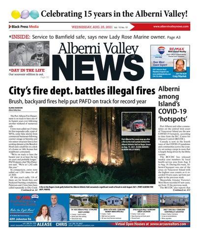 Alberni Valley News, August 25, 2021