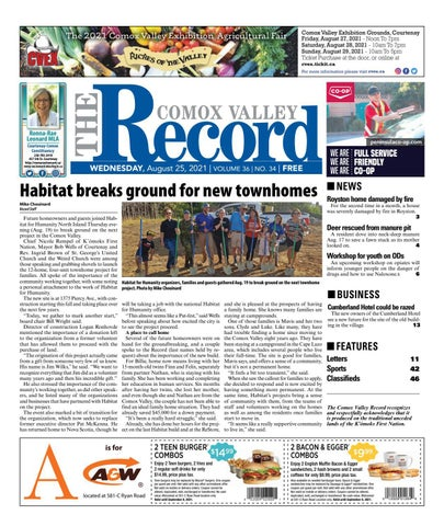 Comox Valley Record, August 25, 2021