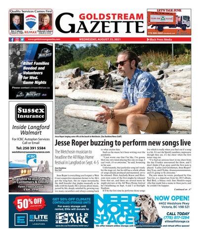Goldstream News Gazette, August 25, 2021
