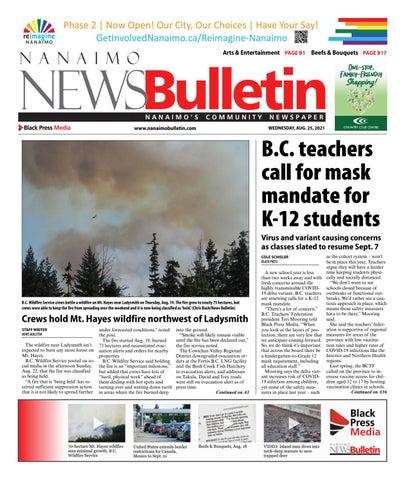 Nanaimo News Bulletin, August 25, 2021
