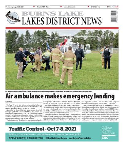 Burns Lake Lakes District News, August 25, 2021