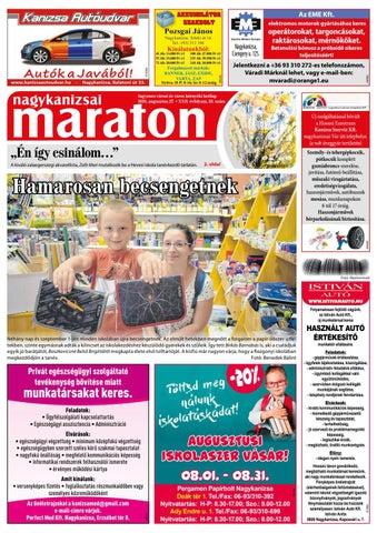 Nagykanizsai Maraton - 2021. 08. 27.