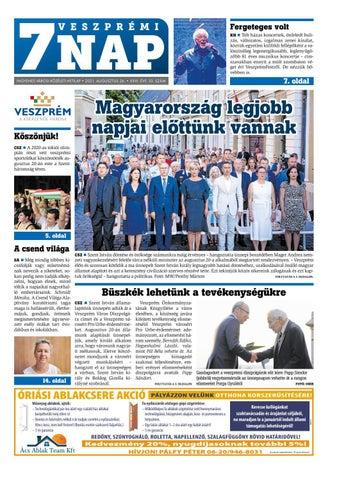 Veszprémi 7 Nap - 2021. 08. 26.