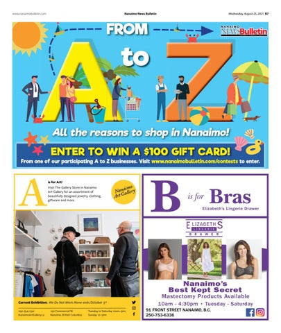 A - Z in Nanaimo - August 25, 2021