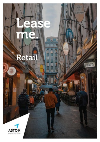 Aston Commercial | Retail Leasing Brochure