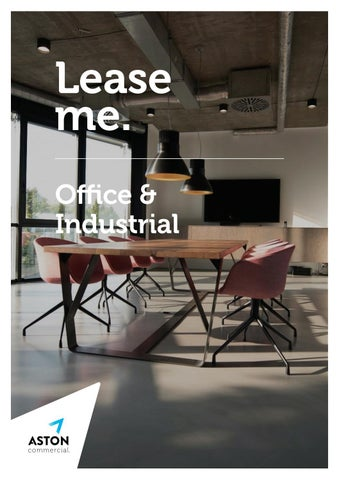 Aston Commercial | Office Leasing Brochure