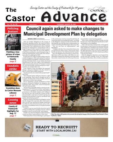 Castor Advance, August 26, 2021