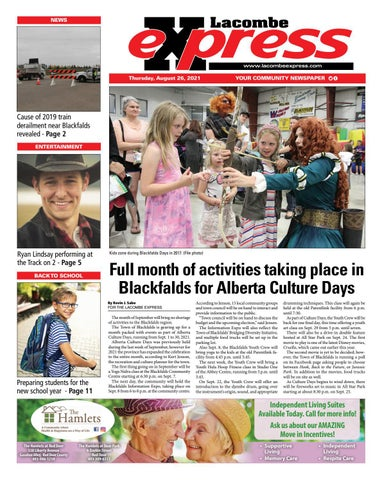 Lacombe Express, August 26, 2021