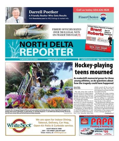 North Delta Reporter, August 26, 2021